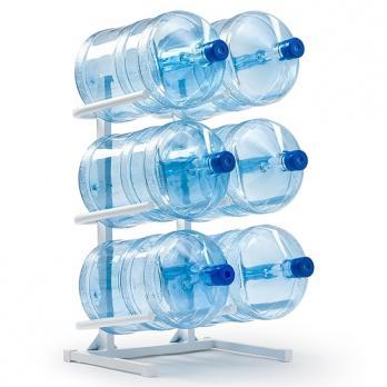 Подставка для 6-ти бутылей 19 л
