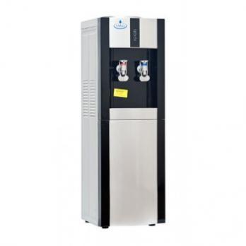 Водный диспенсер SMixx 16 L/E черный с серебром с нагревом и компрессорным охлаждением