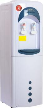 Кулер для воды нагревом без охлаждения Aqua Work 16-LK/HLN(3L) бело-синий