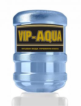 """""""VIP-AQUA"""" питьевая вода премиум (одноразовая тара ПЭТ)"""
